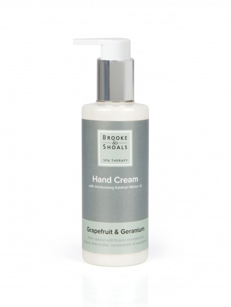 BROOKE AND SHOALS HANDCREME GRAPEFRUIT UND GERANIE 200ml