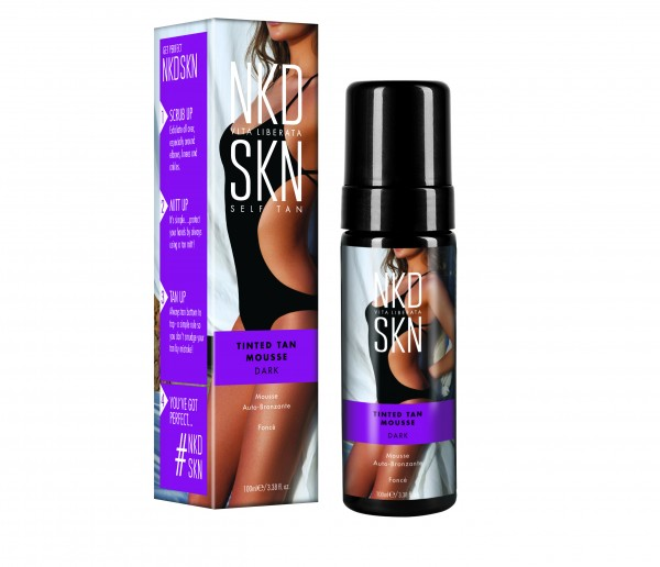 NKD SKN Tinted Tan Mousse Dark 100ml