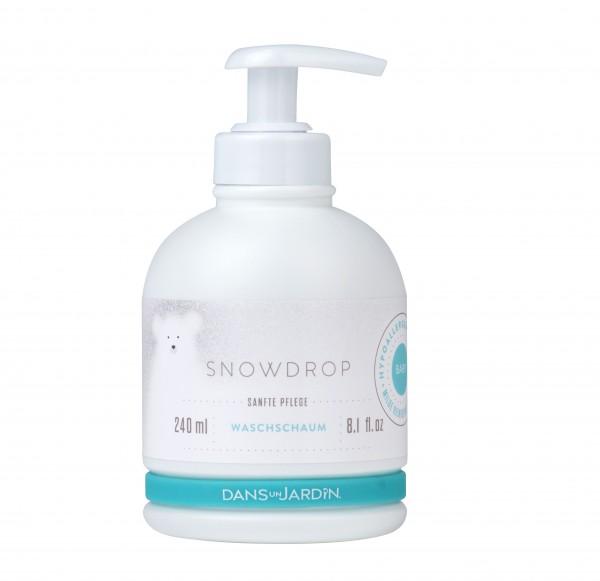 Snowdrop sanfter Baby Waschschaum mit 240ml im Levinia Maria e-Shop kaufen