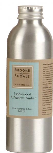 Refill Brooke & Shoals Raumduft Lufterfrischer Sandelholz & Amber