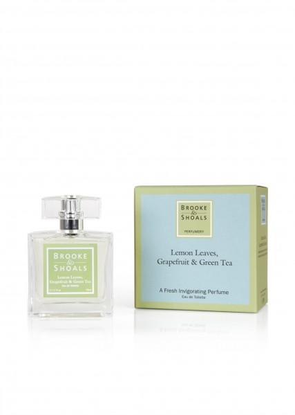Brooke & Shoals Eau de Toilette Zitronenblätter, Grapefruit & grüner Tee im Levinia Maria e-Shop online kaufen