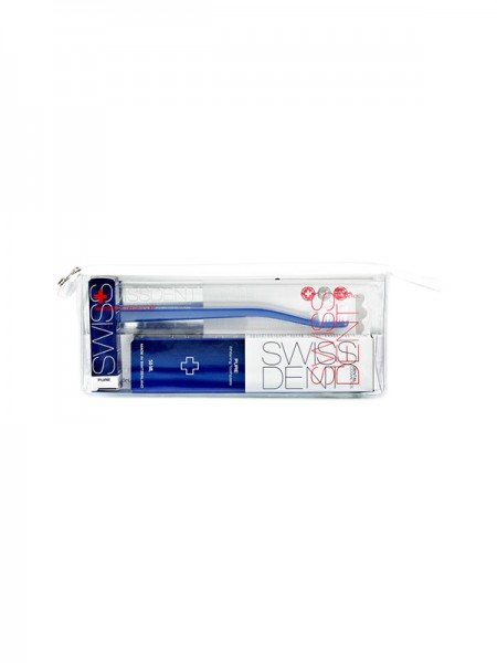 SWISSDENT EMERGENCY KIT BLAU