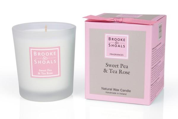 Brooke & Shoals Duftkerze Wicke & Teerose Standardgröße RC im Levinia Maria e-Shop online kaufen