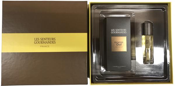 LES SENTEURS GOURMANDES Geschenkset mit Incense Oud und Amber Oud im Levinia Maria e-Shop online kaufen