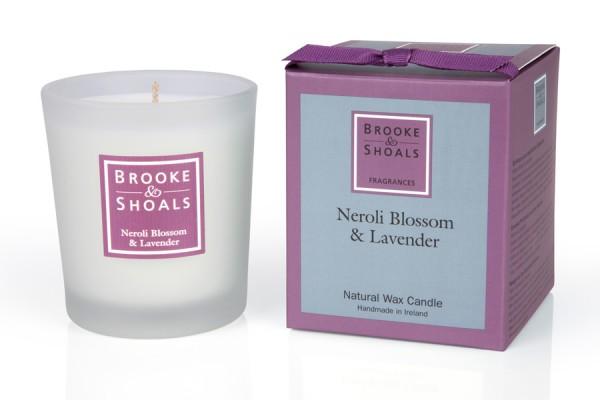 Brooke & Shoals Duftkerzen Neroliblüte & Lavendel