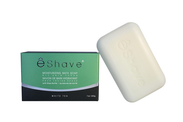 eShave Badeseife Orange Sandelholz 200g