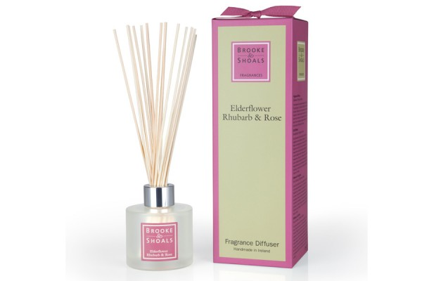 Brooke & Shoals Raumduft Lufterfrischer Holunderblüte, Rhabarber & Rose im Levinia Maria e-Shop online kaufen