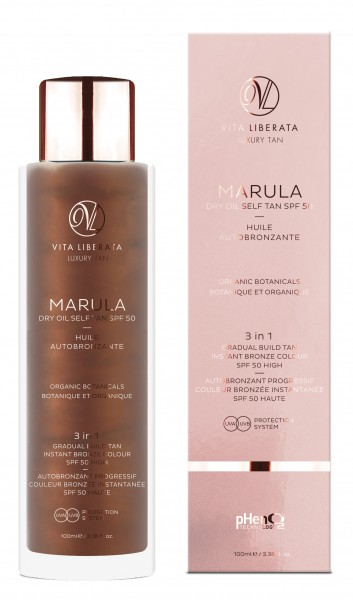 Vita Liberata Marula Dry Oil Self Tan SPF 50  / 100ml
