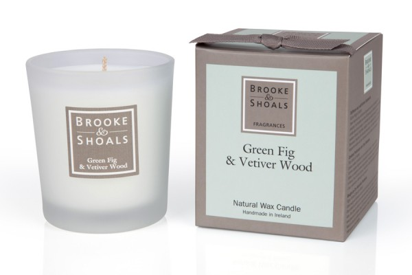 Brooke & Shoals Duftkerzen Grüne Feige & Vetiver Standardgröße RC im Levinia Maria e-Shop online kaufen