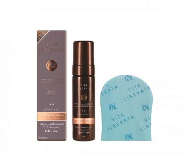 Vita Liberata pHenomenal 2 - 3 Week Beauty To Go Reisekit Mousse Medium 50ml