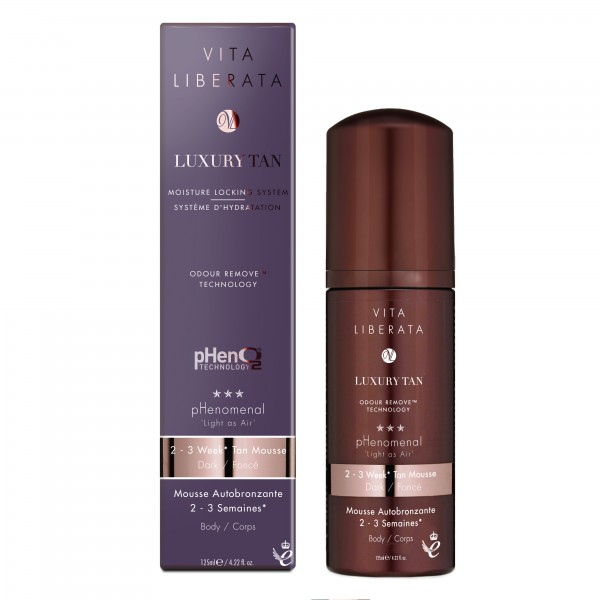 Vita Liberata pHenomenal 2 - 3 Week Self Tan Mousse - DARK 125ml