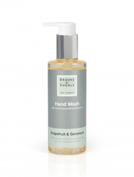 BROOKE AND SHOALS HANDSEIFE GRAPEFRUIT UND GERANIE 200ml