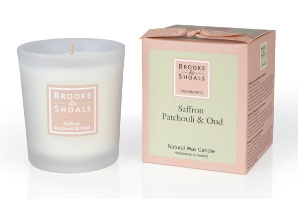 Brooke & Shoals Duftkerze Safran, Patchouli & Oud Standardgröße RC im Levinia Maria e-Shop online kaufen