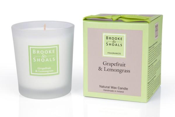 Brooke & Shoals Duftkerze Grapefruit & Zitronengras Standardgröße RC im Levinia Maria e-Shop online kaufen